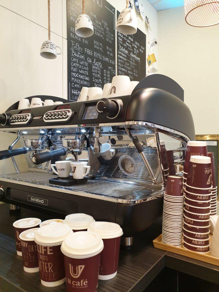 Cafenea Victoriei sector 1 - U Cafe - Coffee to stay, coffee to go, cafea de specialitate indiana preparare
