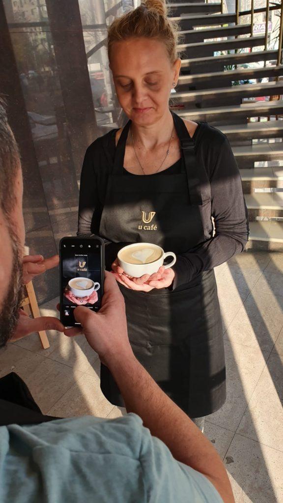 Cafenea Victoriei sector 1 - U Cafe cappuccino