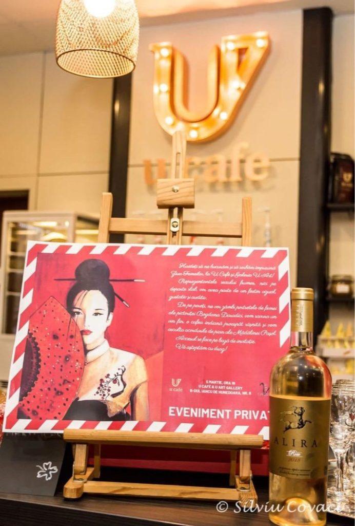 Cafenea Victoriei sector 1 - eveniment U CAFE & U Art Gallery - Cafea, arta si pian - Alira vin