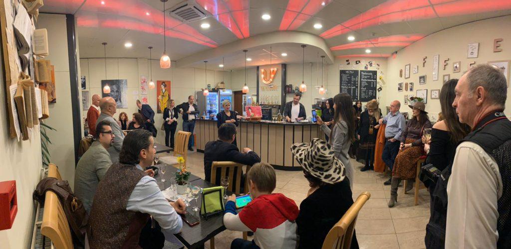 Cafenea Victoriei sector 1 - eveniment U CAFE & U Art Gallery - Cafea, arta si pian, invitati f