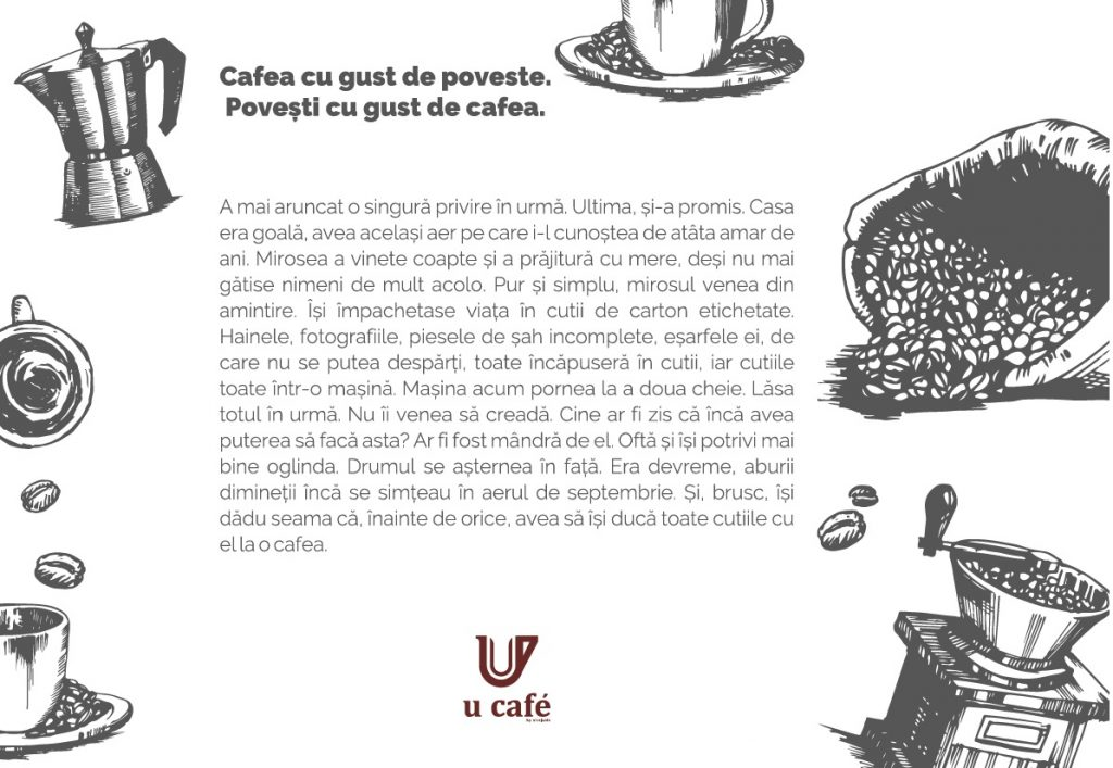 Cafenea Victoriei sector 1 - Poveste cu gust de cafea si aer de septembrie